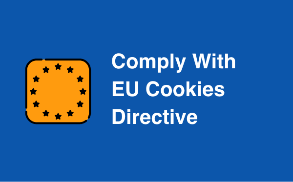 Comply with EU Cookies Directive