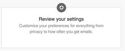 LinkedIn Account: Review Privacy Settings