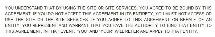 oDesk Terms of Service Browsewrap Clause
