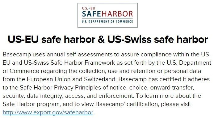 What is Safe Harbor - TermsFeed