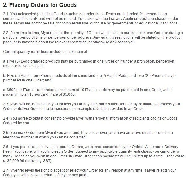 shipping and return policy template - terms and conditions for ecommerce stores termsfeed