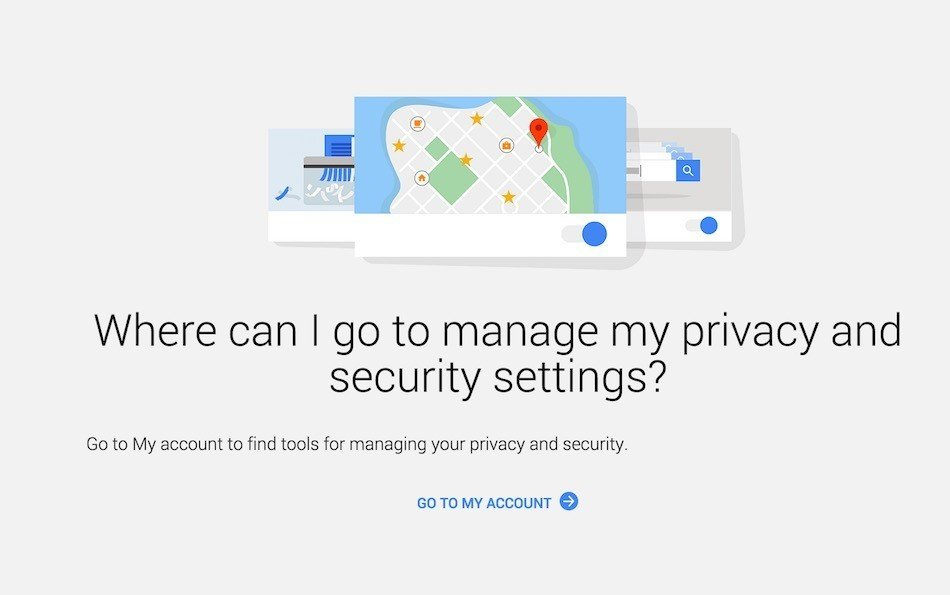 Google: Where Can I Manage Privacy