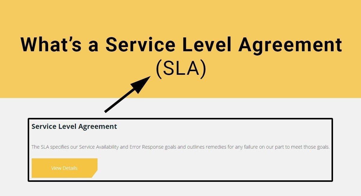 Great Whatu0027s A Service Level Agreement (SLA)