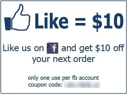 Generic Promotion On Facebook: Like Us