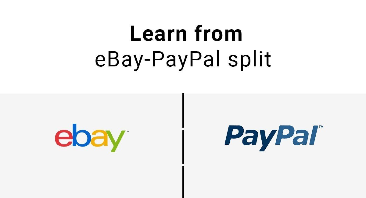 Today's Tip: Learn From eBay-PayPal Split