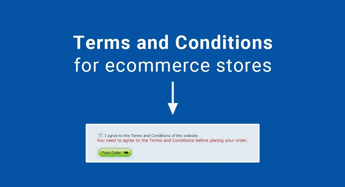 An ecommerce business needs terms conditions termsfeed for Online store terms and conditions template