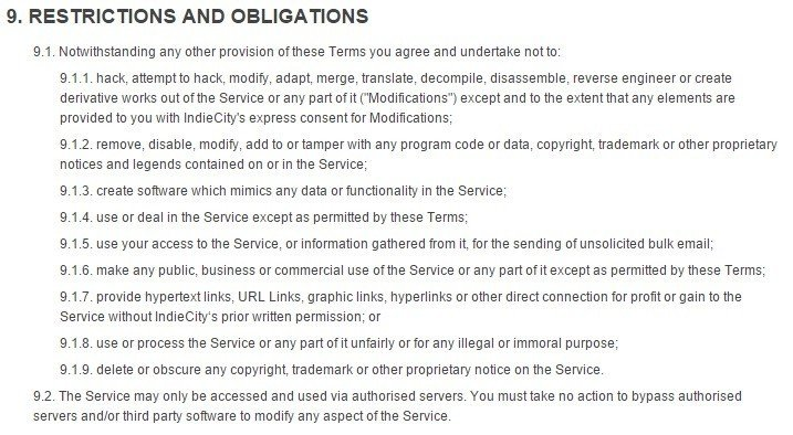 Terms And Conditions For Ecommerce Stores  Termsfeed