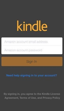 Amazon Kindle iOS: Privacy Policy, Terms and Conditions