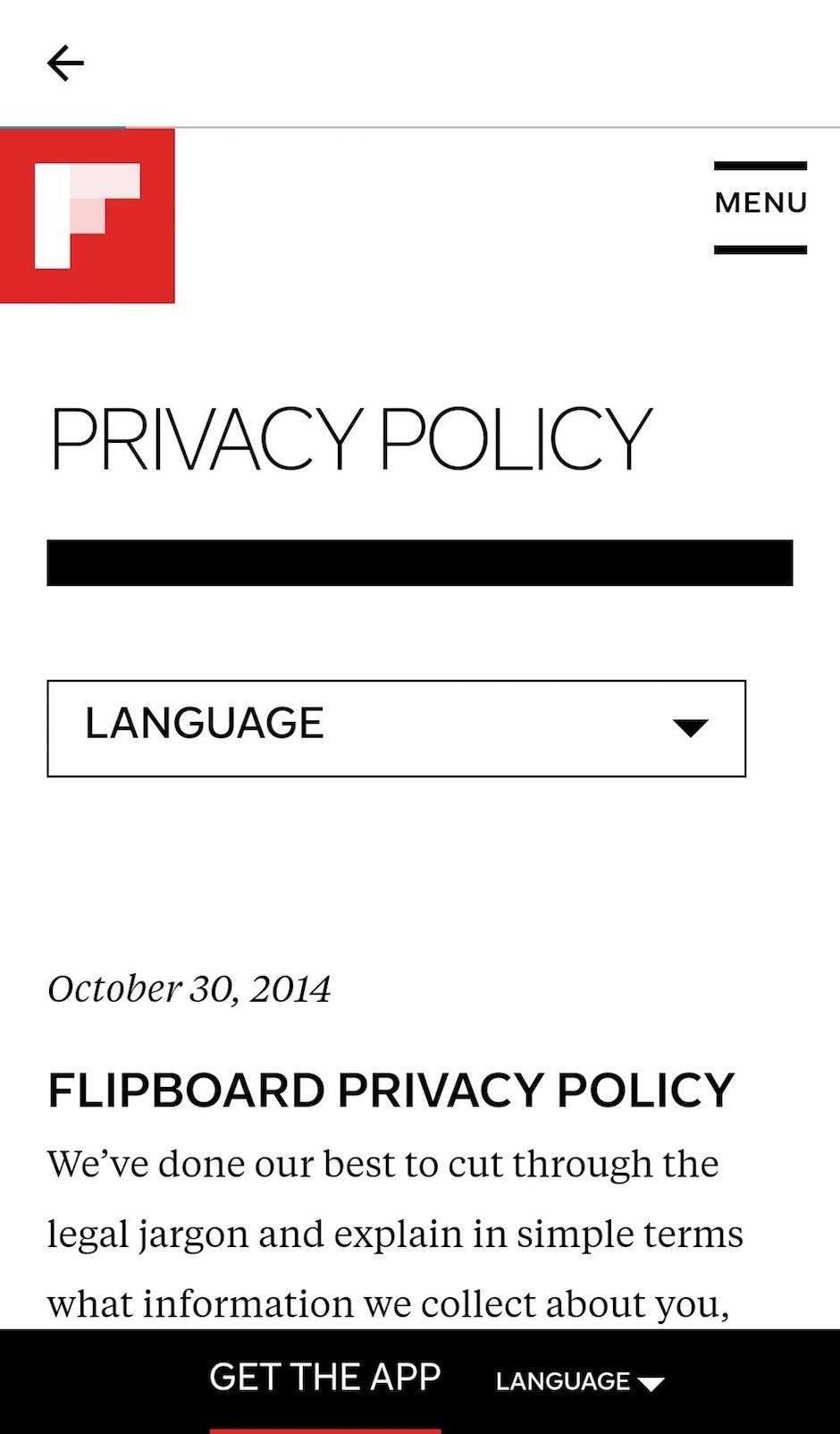 mobile app privacy policy template.html