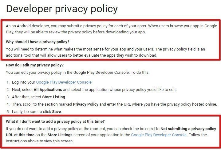 Sample Privacy Policy Template TermsFeed - Privacy disclaimer template
