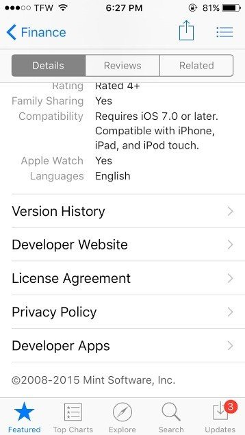 how to add privacy policy to app