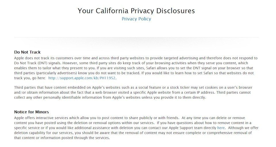 Caloppa California Online Privacy Protection Act  Termsfeed