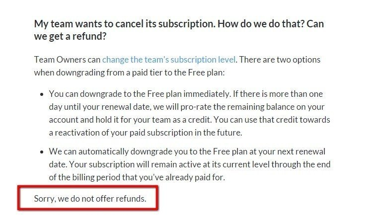 Refund Policy For Saas Apps - Termsfeed