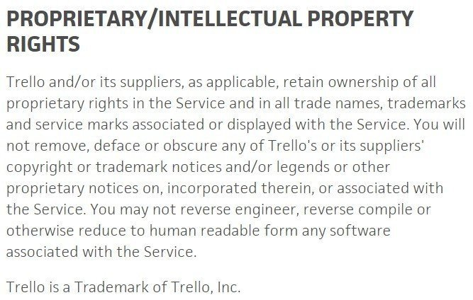 Intellectual Property In Eula And Terms Of Service Termsfeed