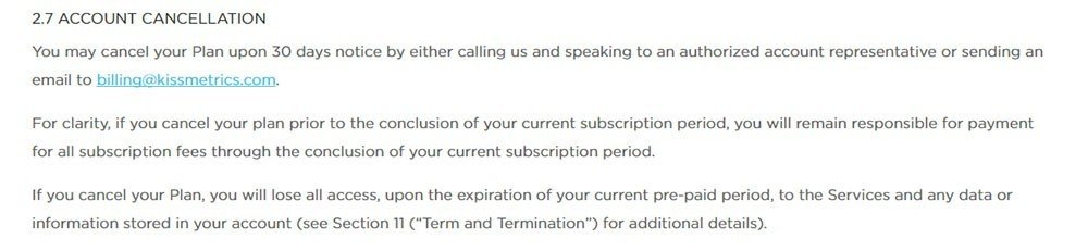 Payment Terms In Terms & Conditions - Termsfeed