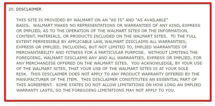 Policies For Retail Stores Termsfeed