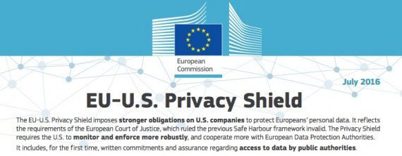 The EU-US Privacy Shield Framework document