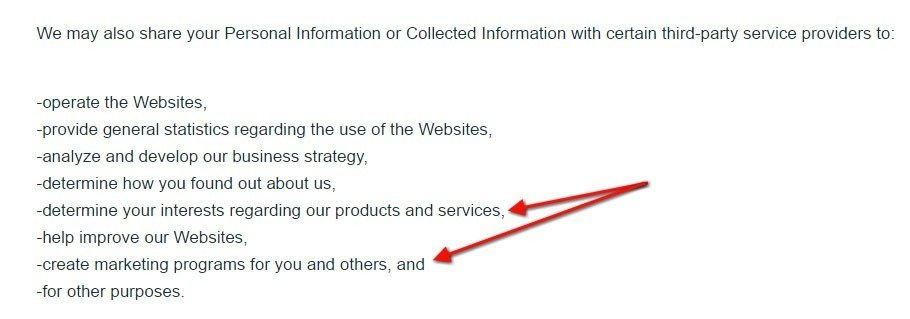 Purch Privacy Policy: We share information with third-parties for marketing interests