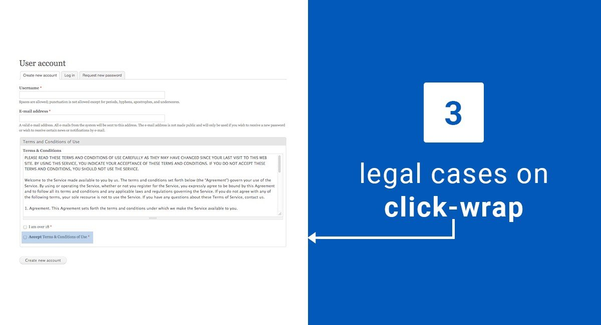 3 Key Legal Cases on Clickwrap