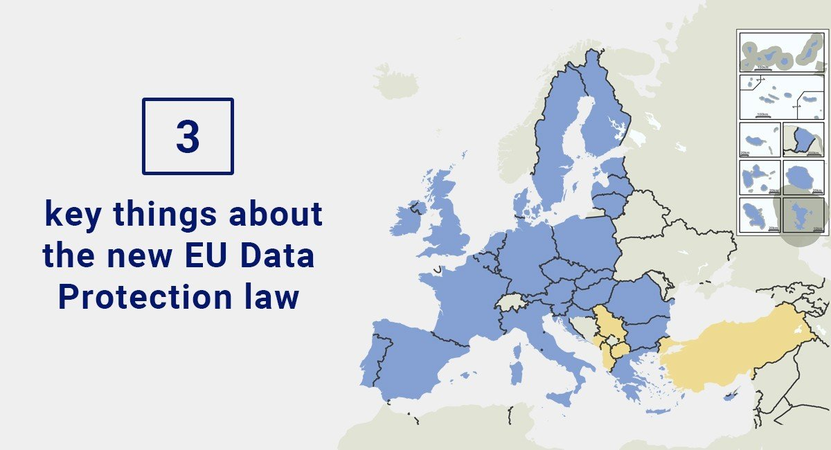 Image for: 3 key things about the new EU Data Protection law