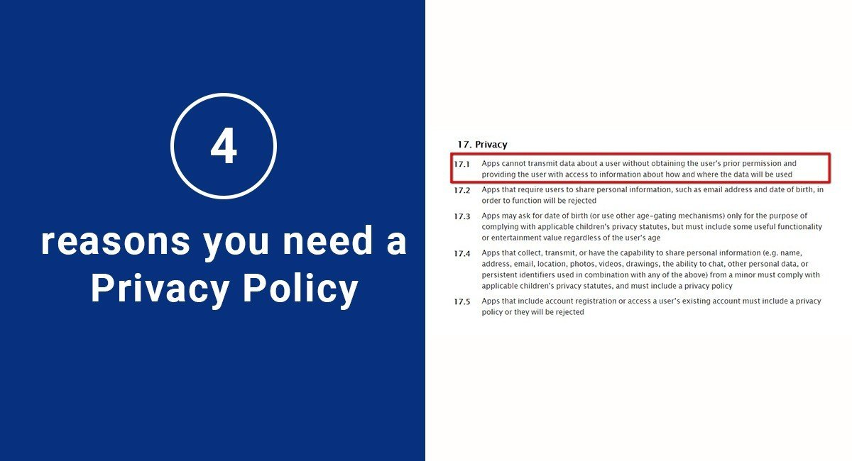 Image for: 4 Reasons You Need a Privacy Policy