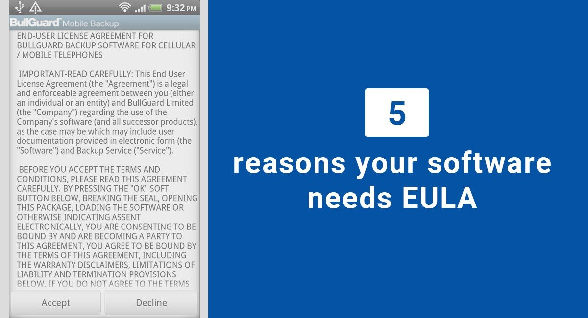 5 Reasons Your Software Needs An Eula Termsfeed