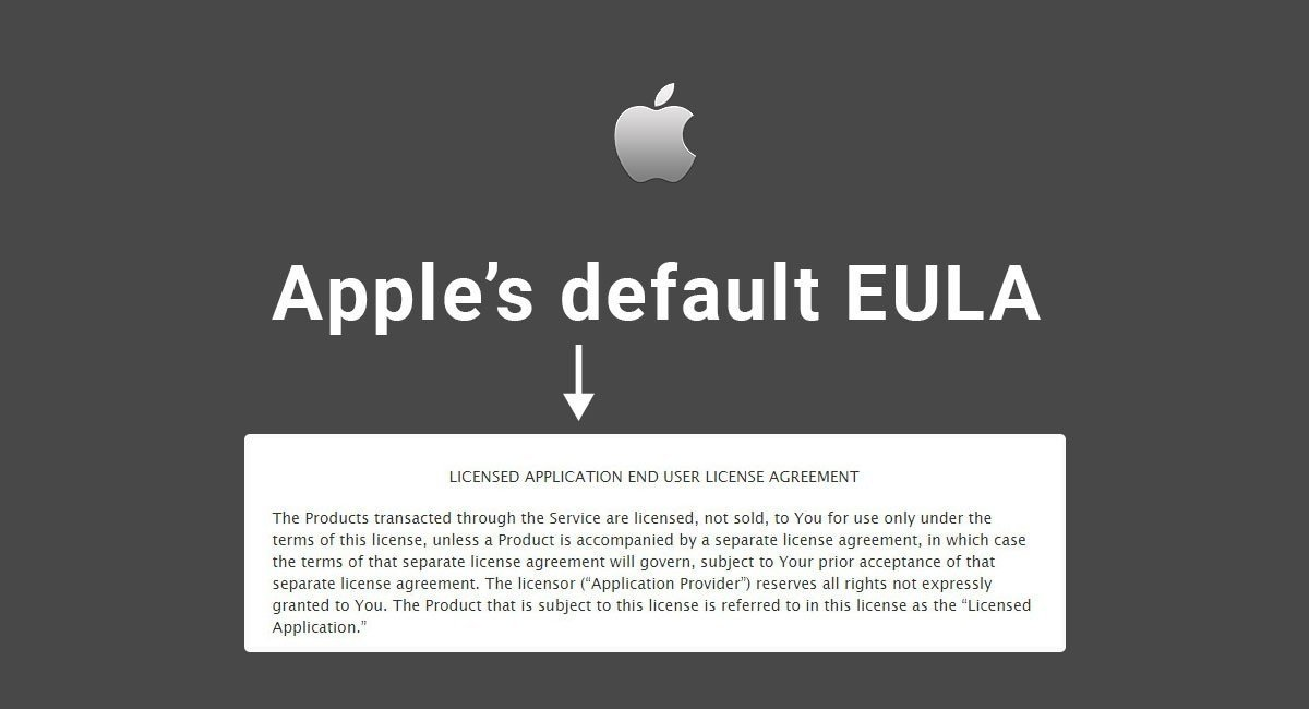 Apple'S Default Eula - Termsfeed