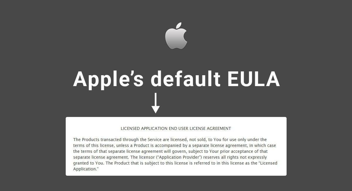 Apple's Default EULA - TermsFeed