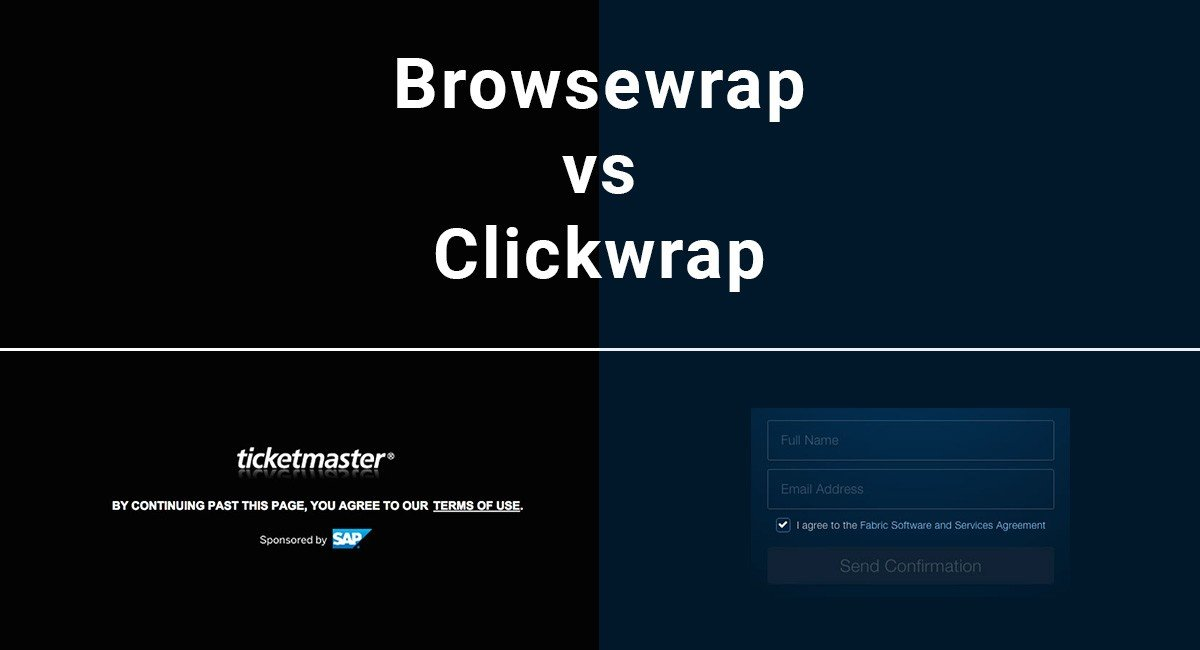 Image for: Browsewrap vs. Clickwrap