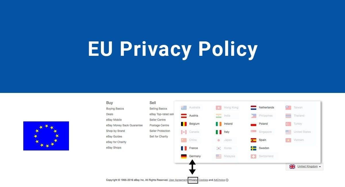 eu privacy polocy