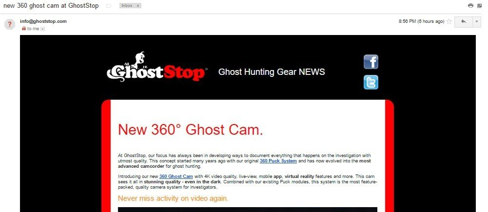 Ghost Shop email is commercial email under CAN-SPAM