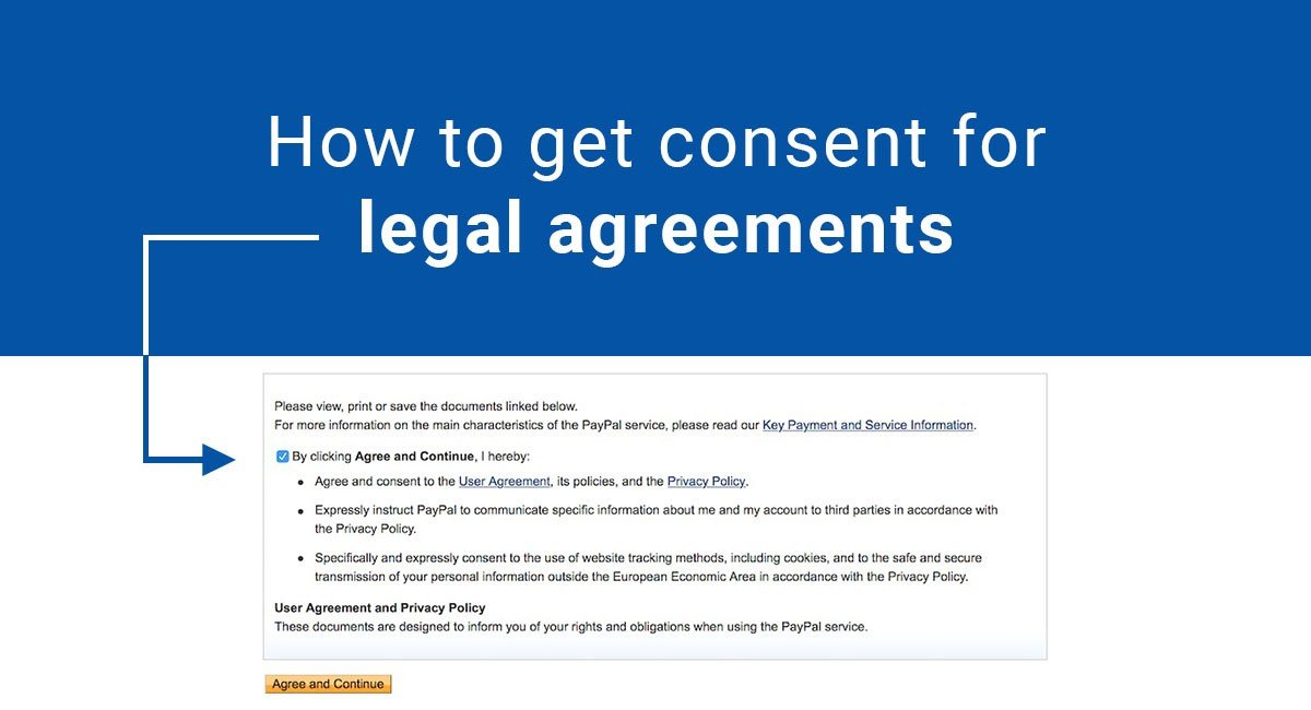 How to Get Consent for Legal Agreements
