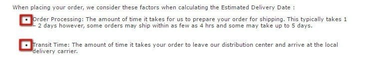 IKEA Shipping Policy: Order processing