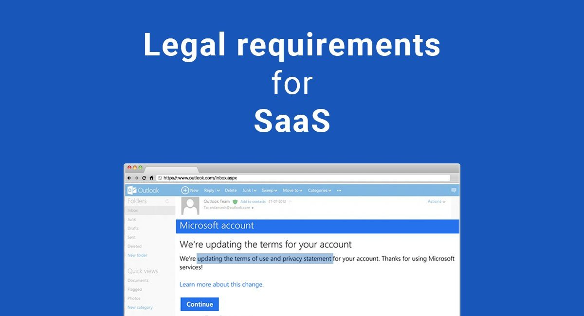 Image for: Legal requirements for SaaS
