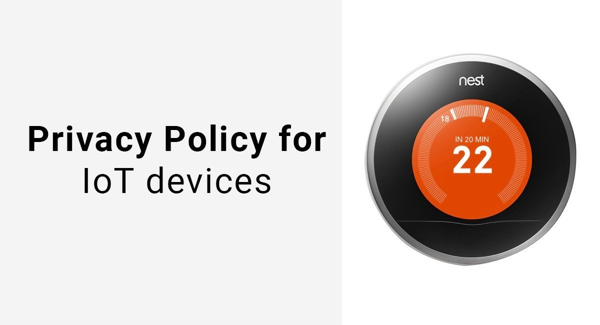 Image for: Privacy Policy for IoT devices