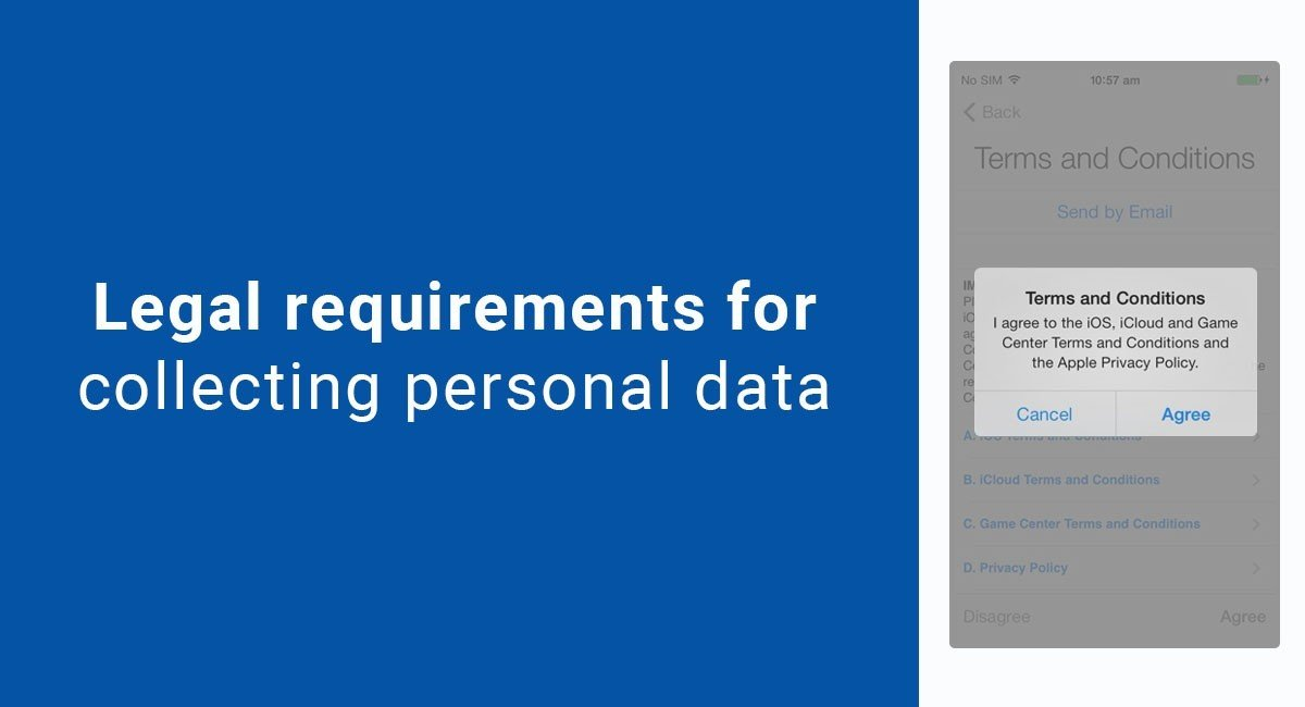 Image for: Legal requirements for collecting personal data