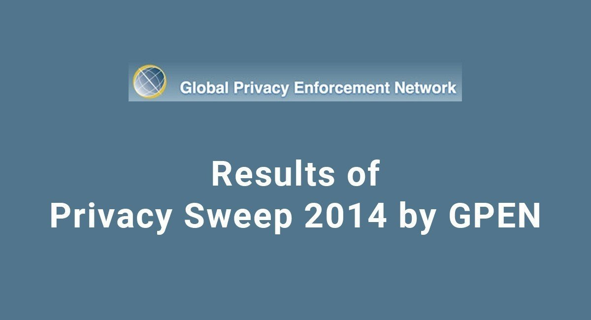 Results of Privacy Sweep 2014 by GPEN