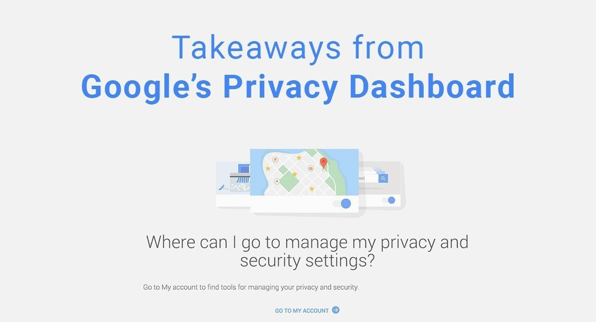 Takeaways from Google's Privacy Dashboard