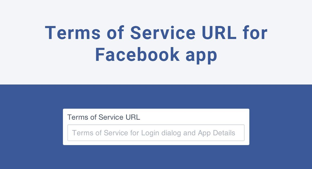 Terms Of Use >> Terms Of Service Url For Facebook App Termsfeed