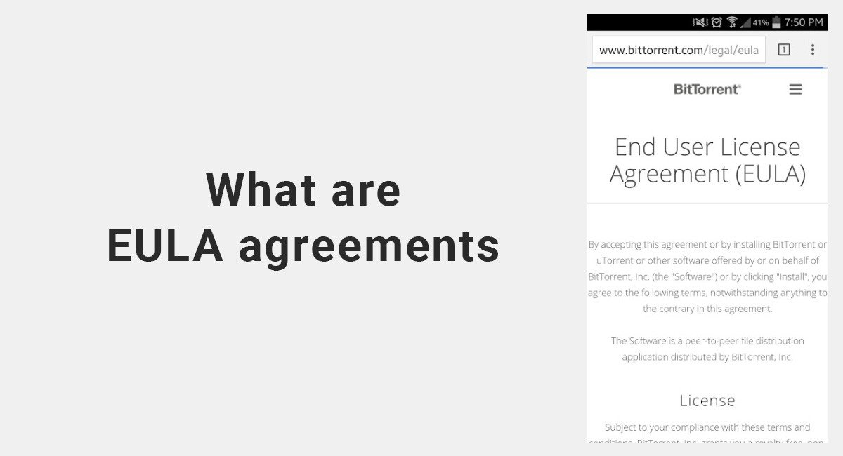 Image for: What's an EULA