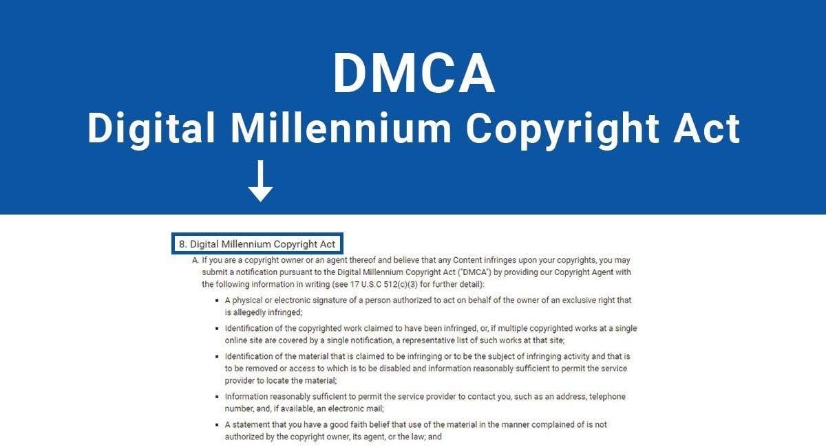 Dmca: Digital Millennium Copyright Act