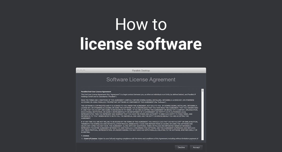 Image for: How to License Software