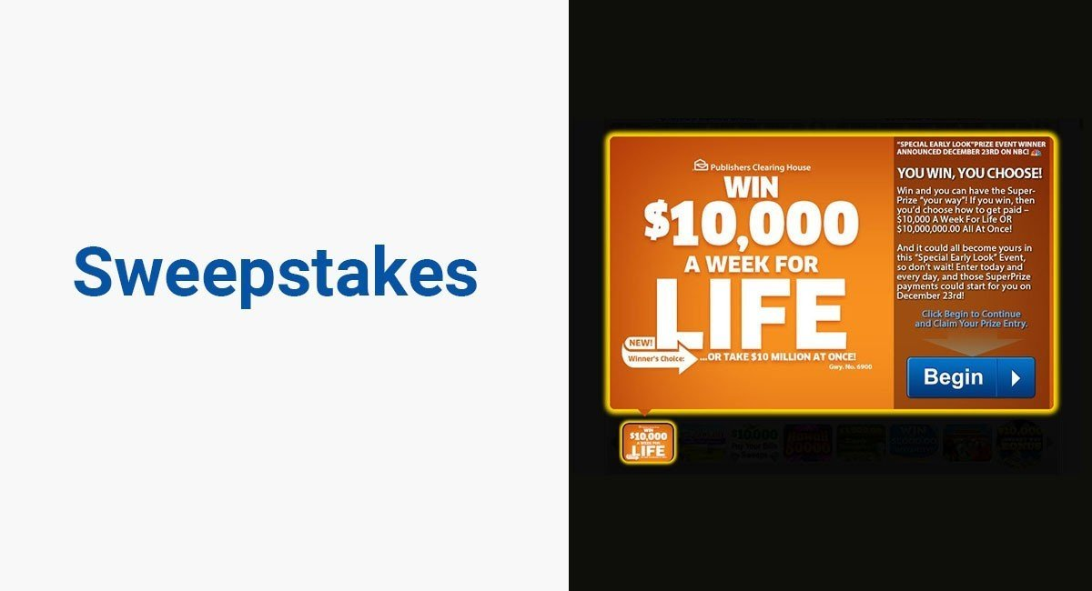 Image for: Sweepstakes