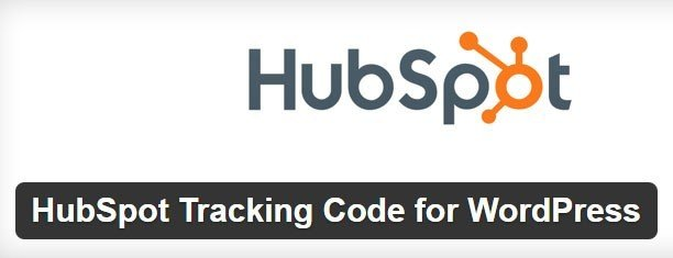 Screenshot of HubSpot Tracking Code plugin