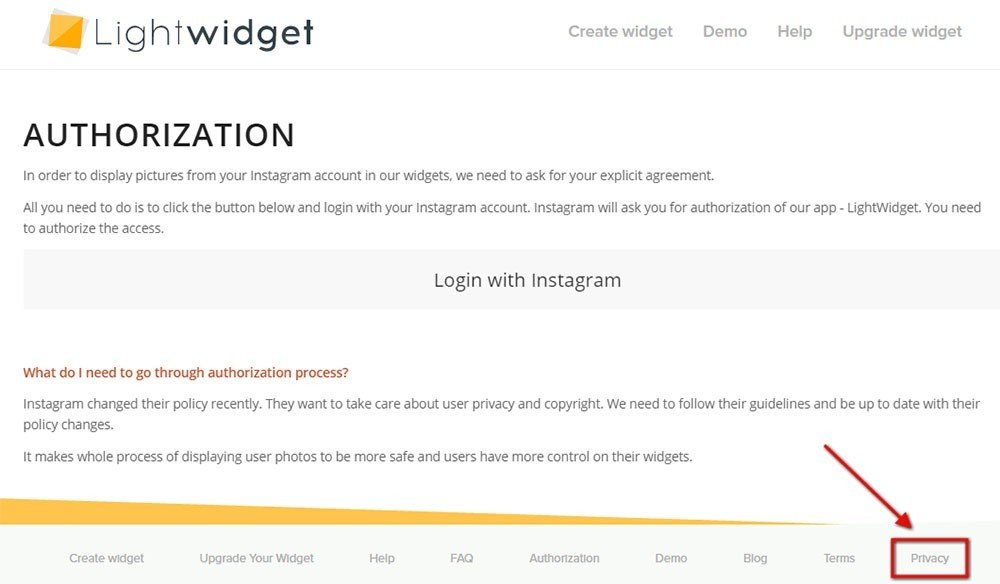Privacy Policy Url For Instagram Termsfeed