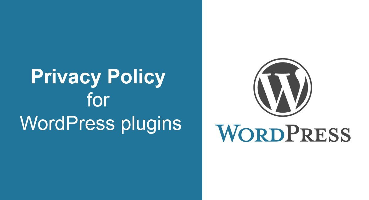 Image for: Privacy Policy for WordPress plugins