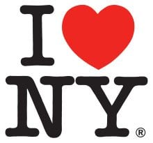 Logo of I Love NY by Milton Glaser