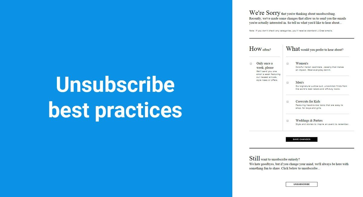 Image for: 10 Unsubscribe Best Practices