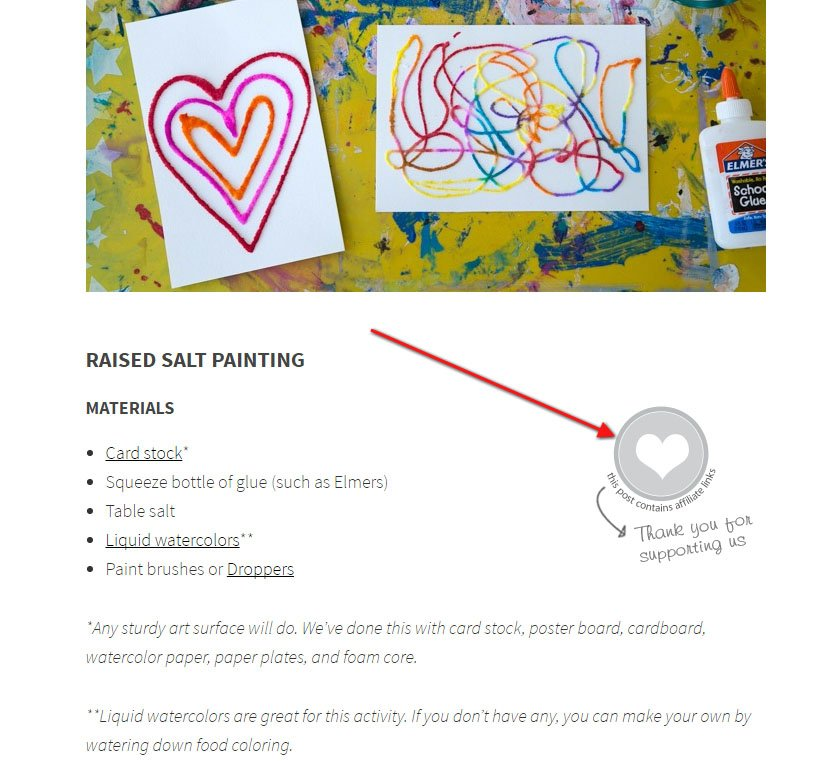 Artful Parent Icon on Post: This post contains affiliate links disclosure