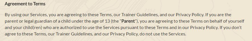 Niantic Labs + Pokemon Game: Terms of Service with Acceptance to Terms
